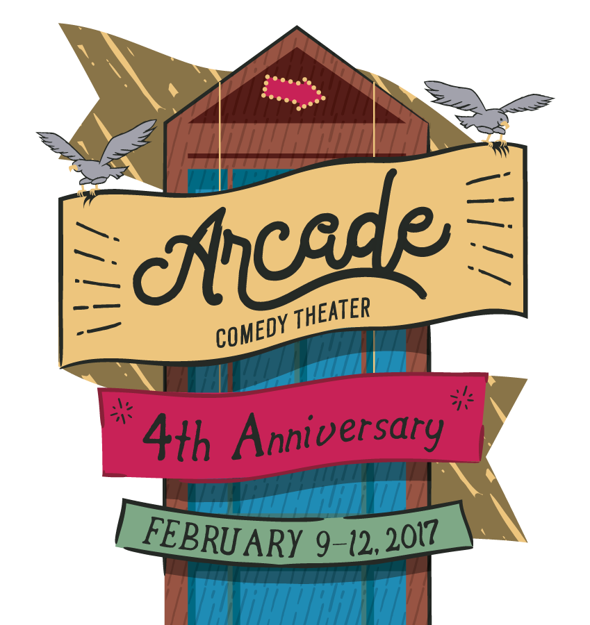 Arcade Anniversary Logo
