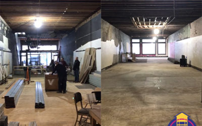 Construction is Underway at 943 Liberty Ave!